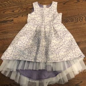 Girls 3t Genuine Oshkosh purple and gold dress